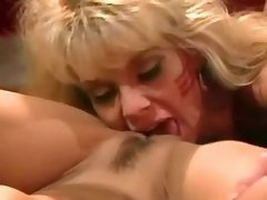 Hot army chick licking sweet pussy